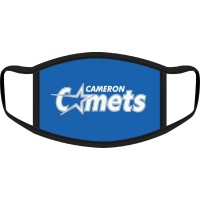 Cameron Comets Face Mask