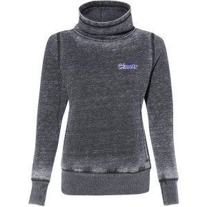 Ladies Cowl Neck Fleece